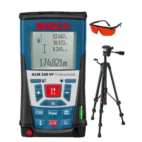 Dalmierz Bosch GLM 250 VF statyw i okulary GRATIS