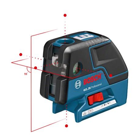 Laser liniowo-punktowy Bosch GCL 25 - NOWOŚĆ