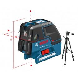 Laser liniowo-punktowy Bosch GCL 25 + statyw
