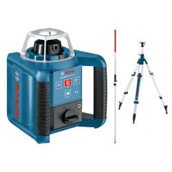 Niwelator laserowy Bosch GRL 300 HV - ze statywem i łatą