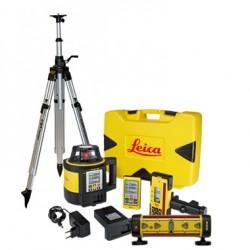 Zestaw sterowania maszynami Leica Rugby 880 z odbiornikiem LMR 360 - wypożyczenie