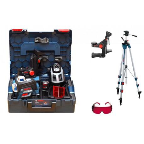 Laser płaszczyznowy Bosch GLL 3-80 C +BM1+BT250+L-Boxx