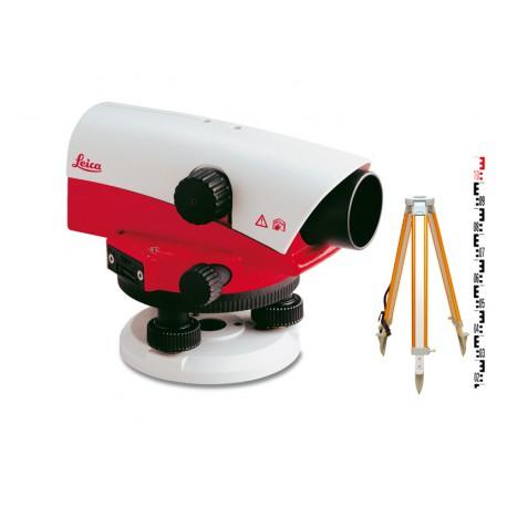 Niwelator geodezyjny Leica NA730 - zestaw
