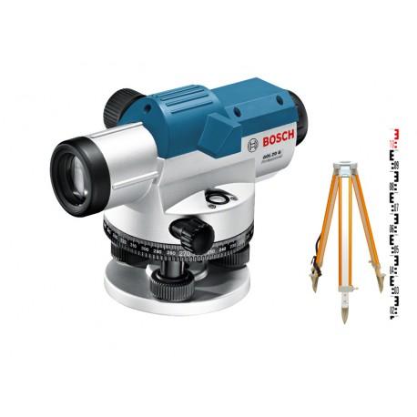 Niwelator optyczny Bosch GOL 26 - zestaw