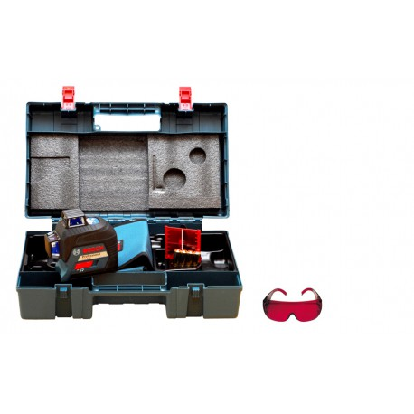 Laser płaszczyznowy Bosch GLL 3-80 + walizka+okulary