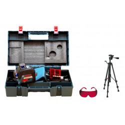 Laser płaszczyznowy Bosch GLL 3-80 + BT150 + walizka+okulary