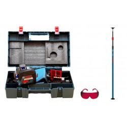 Laser płaszczyznowy Bosch GLL 3-80 + BT350 + walizka+okulary