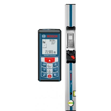 Dalmierz laserowy Bosch GLM 80 + szyna R 60
