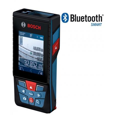 Dalmierz laserowy Bosch GLM 120C - Z KAMERĄ, NA ZEWNĄTRZ