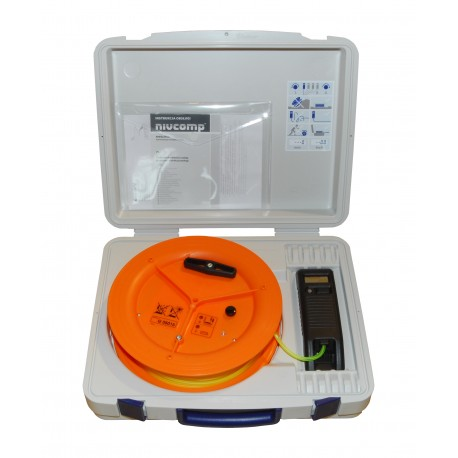 Poziomica elektroniczna wężowa Nivcomp H-25