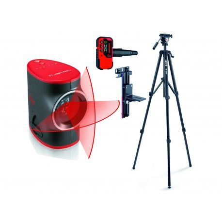 Laser Leica Lino L2 + statyw + uchwyt ścienny + odbiornik