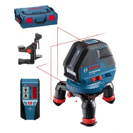 Poziomnica laserowa Bosch GLL 3-50 P+BM1+LR2+L-Boxx
