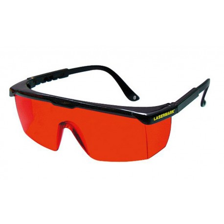 Okulary do pracy z czerwonymi laserami